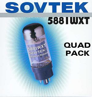 Sovtek 5881WXT Quad Pack