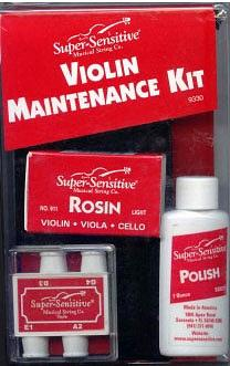 Super Sensitive Violin Maintenance Kit
